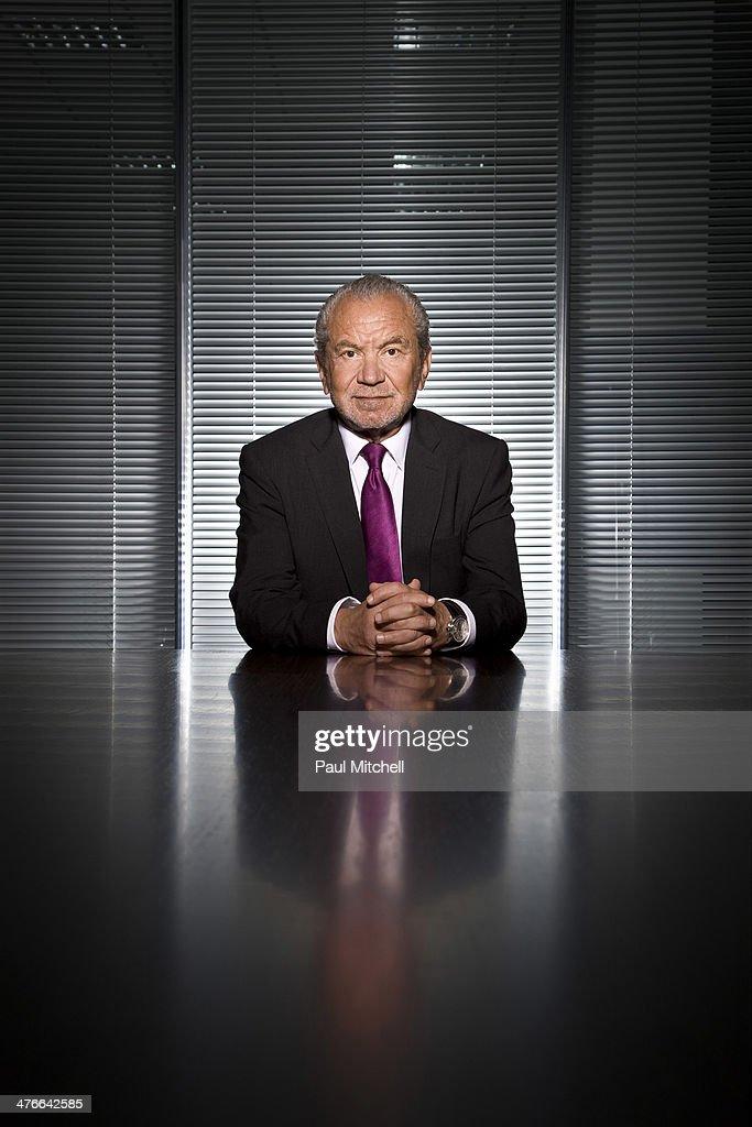 Alan Sugar, Portrait shoot, September 1, 2010