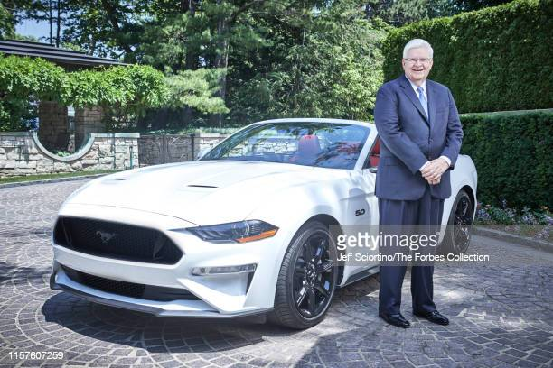 Businessman Allan Gilmour is photographed for Forbes Magazine on June 27 2019 in Birmingham Michigan PUBLISHED IMAGE CREDIT MUST READ Jeff...