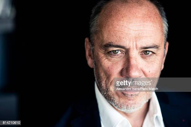 Businessman and CEO of mobile network Orange Stephane Richard is photographed for Paris Match on June 23 2017 in Paris France