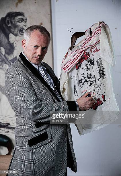 Businessman and cofounder of Agent Provocateur and social activist Joe Corre is photographed on November 8 2016 in London England