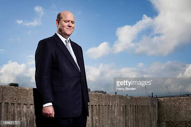Businessman and current CEO of Aggreko Rupert Soames is photographed for Management Today on November 17, 2011 in London, England.