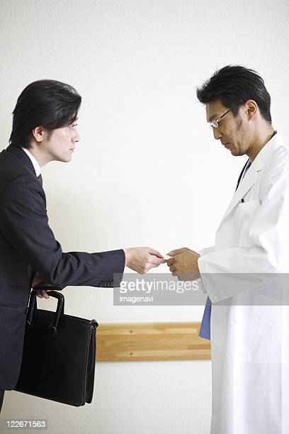 Businessman and doctor