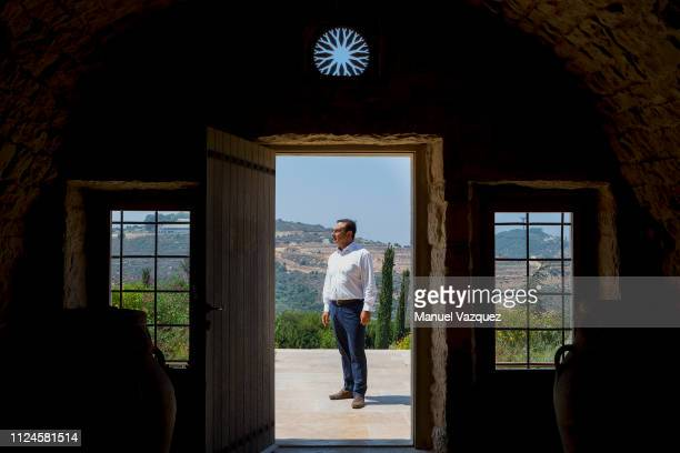 Businessman and former CEO of carmakers Nissan and Renault Carlos Ghosn is photographed for El Pais during a visit to Ixsir winery to whom he is a...