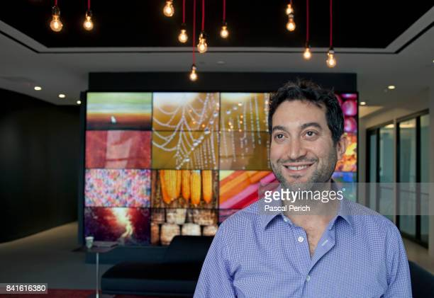 Businessman and photographer Jonathan Oringer is photographed on October 31 in New York City