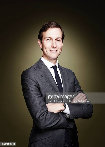 Businessman and political advisor Jared Kushner is photographed for Forbes Magazine on November 17 2016 in New York City COVER IMAGE CREDIT MUST READ...