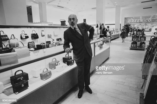 Businessman and retailer Stanley Marcus at Neiman Marcus department store Dallas Texas US 19th November 1968