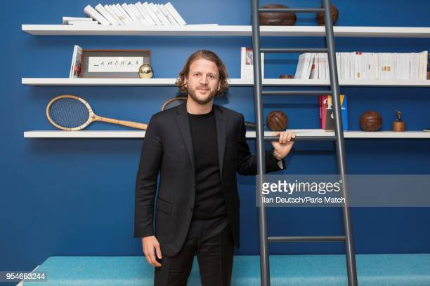 Businessman and the founder of Onepoint Cie David Layani is photographed for Paris Match on February 09 2018 in Paris France