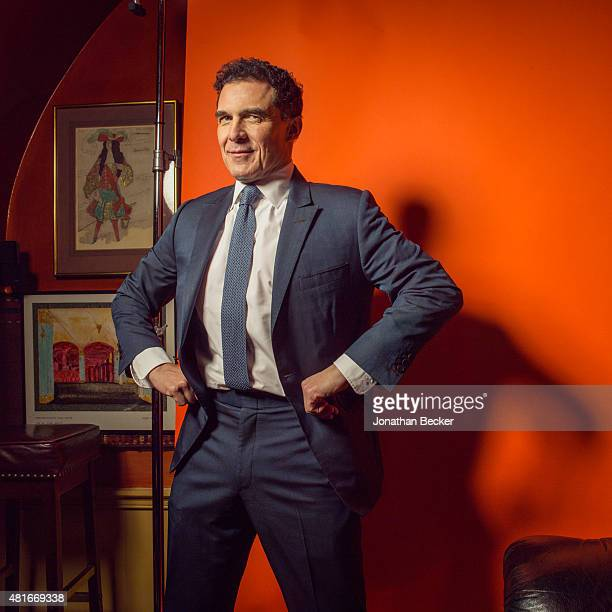 Businessman Andre Balazs is photographed at the Charles Finch and Chanel's PreBAFTA on February 7 2015 in London England