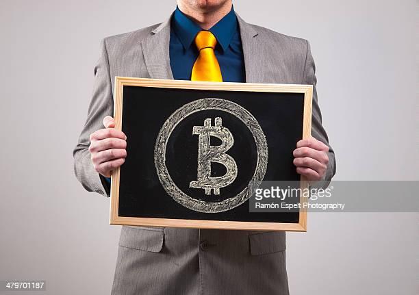 Businessman Bitcoin