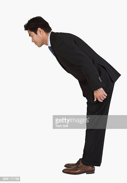 Businessman Bowing