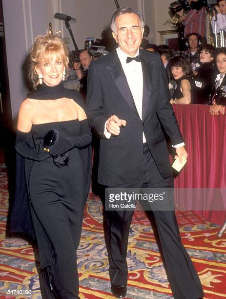 Businessman Carl Icahn and date Gail Golden attend the Wedding of Donald Trump and Marla Maples on December 20 1993 at The Plaza Hotel in New York...