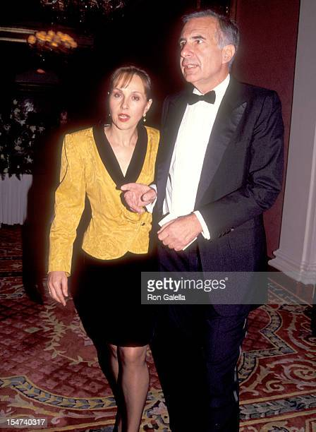 Businessman Carl Icahn and wife Liba Icahn attend the Guild Hall's Lifetime Achievement in the Arts Awards Gala on December 9 1991 at The Plaza Hotel...