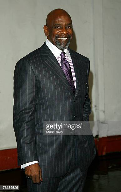 Businessman Chris Gardner poses for photographers at the 22nd Santa Barbara International Film Festival where actor Will Smith is being honored with...
