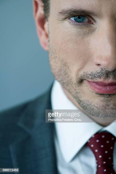 Businessman, close-up portrait