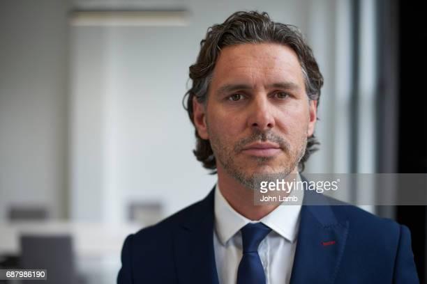 Businessman close-up portrait