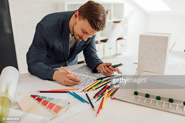 businessman coloring book - colouring book stock photos and pictures