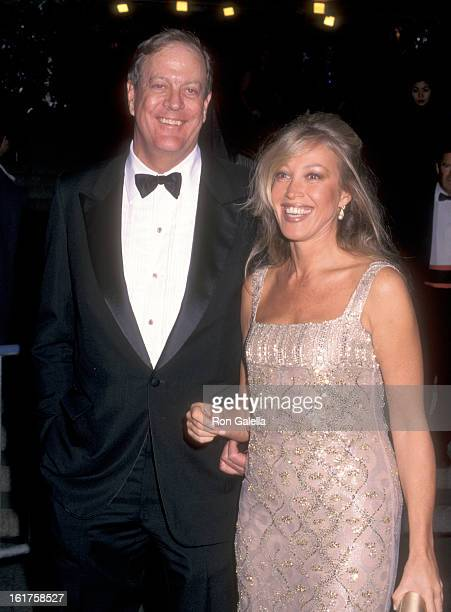 Businessman David H Koch and guest attend The Metropolitan Museum's Costume Institute Gala Monographic Exhibiton Gianni Versace on December 8 1997 at...