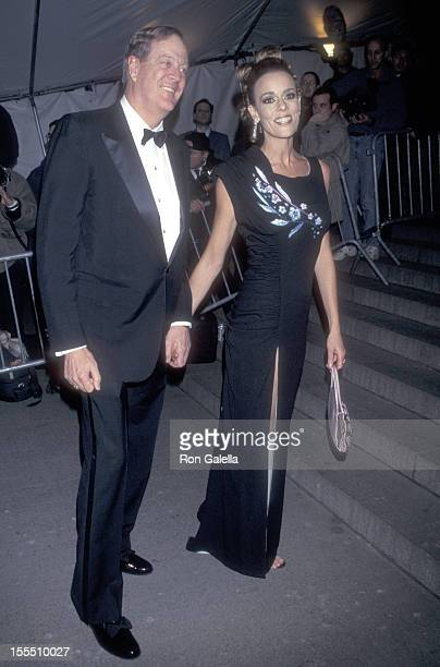 Businessman David H Koch and wife Julia Flesher attend The Metropolitan Museum's Costume Institute Gala Monographic Exhibiton Gianni Versace on...
