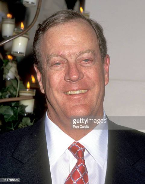 Businessman David H Koch attends An Evening of Fashion by Celine Benefit for Gods Love We Deliver on May 23 1995 at City Center in New York City