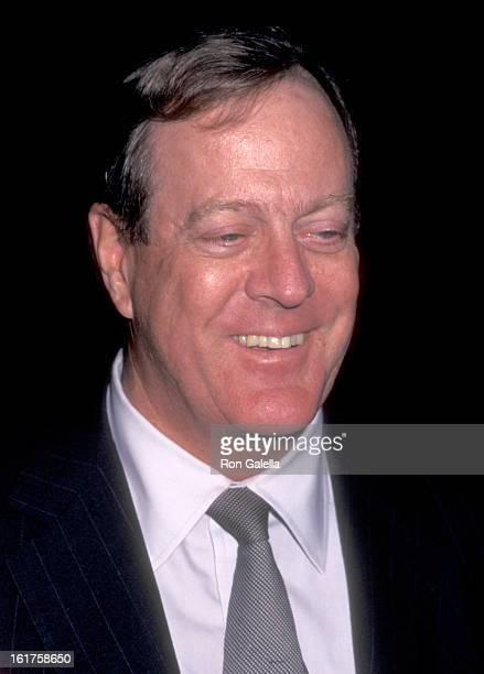 Businessman David H Koch attends the International Fine Art and Antique Dealers Show on October 10 1996 at Seventh Regiment Armory in New York City