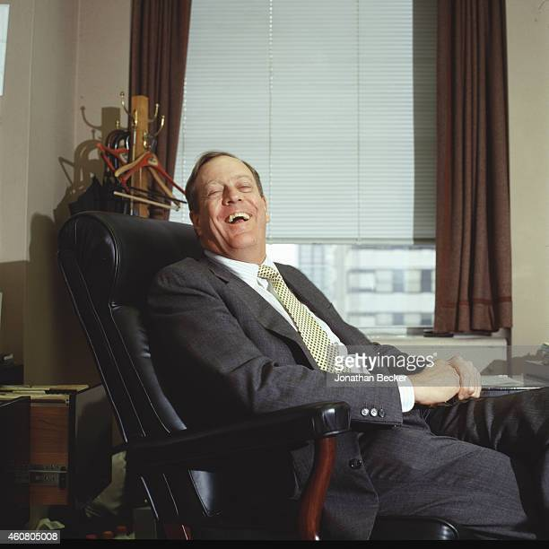 Businessman David Koch is photographed for Fortune Magazine on November 18 1996 in New York City