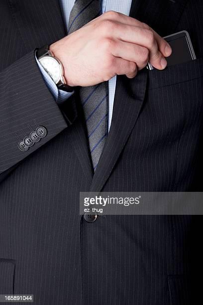 ビジネスマンのディテール