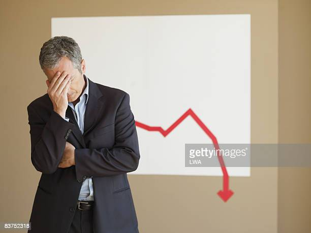 Businessman Disappointed With Projections