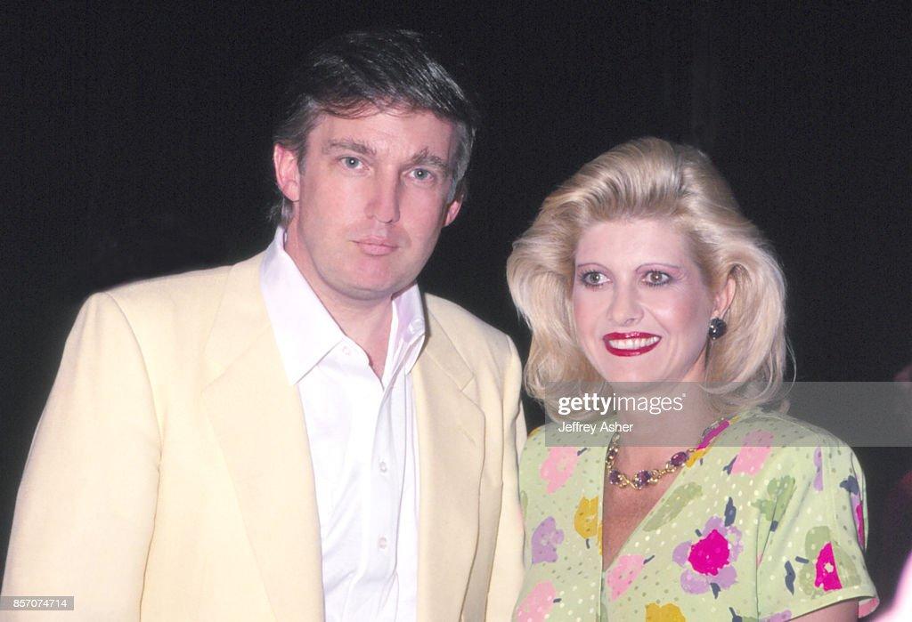 Donald Trump And Ivana Trump In Atlantic City : News Photo