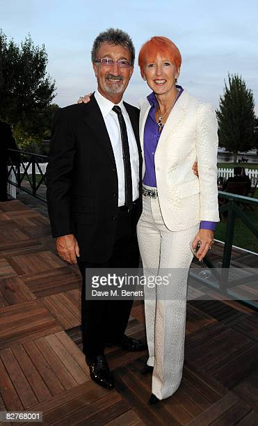 Businessman Eddie Jordan and wife Marie Jordan attend The Royal Parks Charity Gala at the Serpentine Lido in Hyde Park September 10 2008 in London...