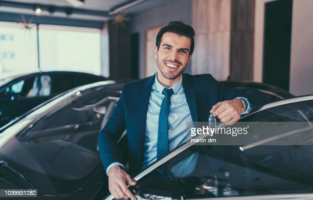 businessman enjoying new car - new stock pictures, royalty-free photos & images