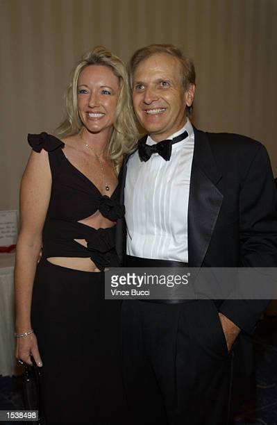 Businessman Enzo Torresi and wife Deborah attend the National Italian American Foundation's West Coast Awards Gala May 2 2002 in Beverly Hills CA The...