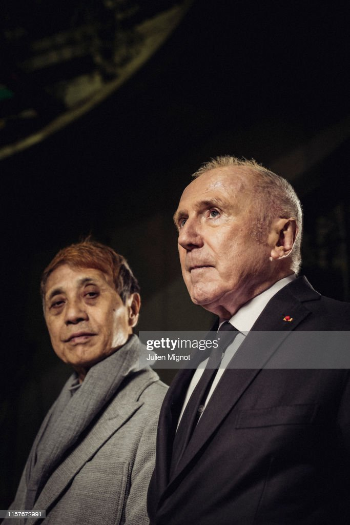 Francois Pinault & Tadao Ando, The New York Times, April 11th, 2019 : News Photo
