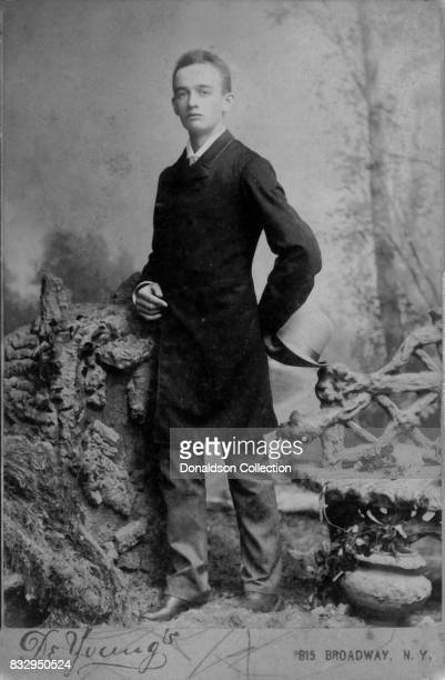Businessman Frederick Trump poses for a portrait in New York in 1887