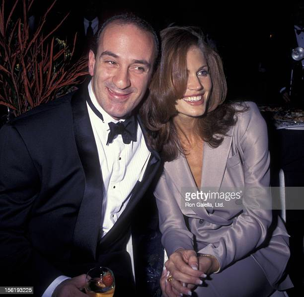 Businessman George Makkos and Paula Barbieri attend the opening of Wollman Rink at Central Park on November 9 1995 in New York City