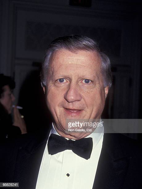 Businessman George Steinbrenner attends 30th Anniversary Gala Saluting Monsignor William O'Brien on May 4 1993 at the Plaza Hotel in New York City