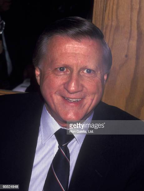 Businessman George Steinbrenner attends Ellis Island Medals of Honor Awards on April 25 1992 at Ellis Island in New York City