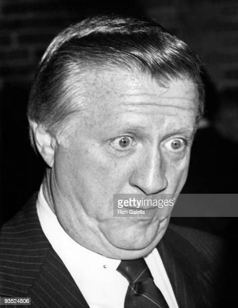 Businessman George Steinbrenner attends the book party for Sidney Zion The Autobiography of Roy Cohn on March 21 1988 at the Telephone Bar and Grill...