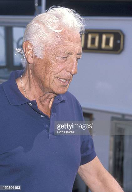 Businessman Gianni Agnelli attends Malcolm Forbes' 70th Birthday Weekend Celebration Rupert Murdoch's Private Boat Party on August 19 1989 aboard...