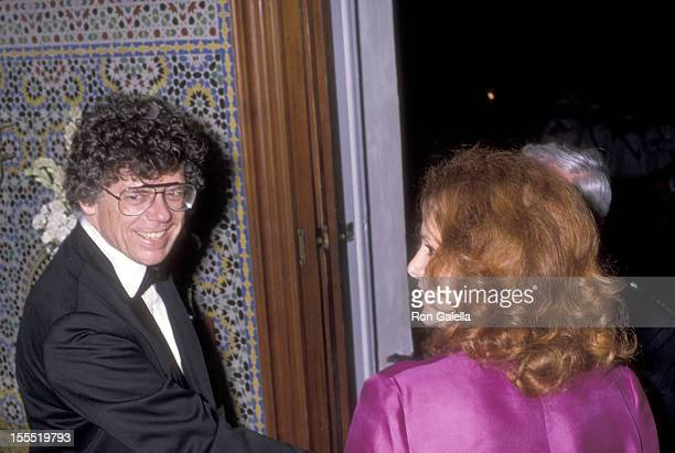 Businessman Gordon Getty and wife Ann Getty attend Malcom Forbes' 70th Birthday Weekend Extravanganza on August 19 1989 at the Palais Mendoub in...
