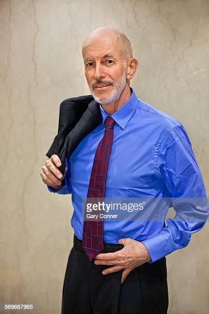 Businessman half length pose