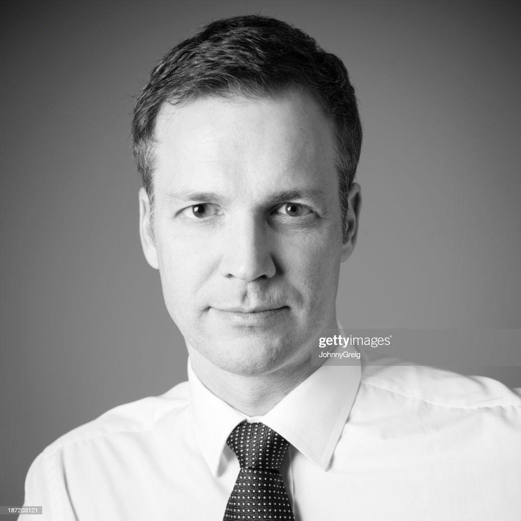 Businessman headshot : Stock Photo
