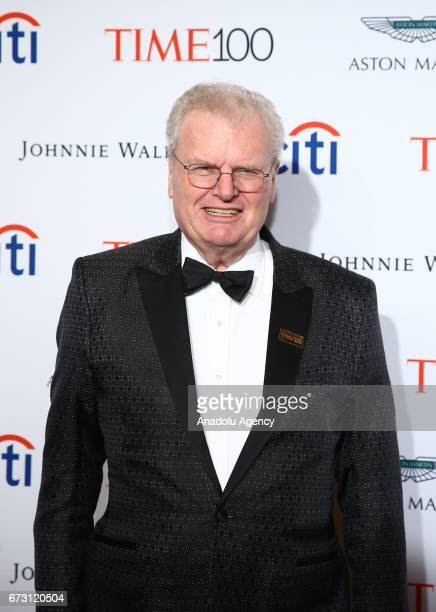 Businessman Howard Stringer attends the 2017 TIME 100 Gala at Jazz at Lincoln Center in New York United States on April 25 2017