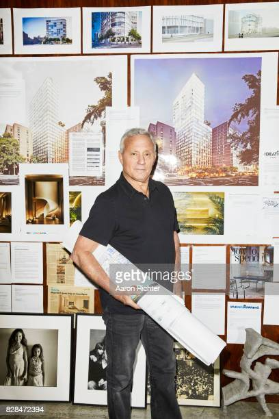 Businessman Ian Schrager is photographed for Delta Sky Magazine on April 19 2017 in New York City PUBLISHED IMAGE