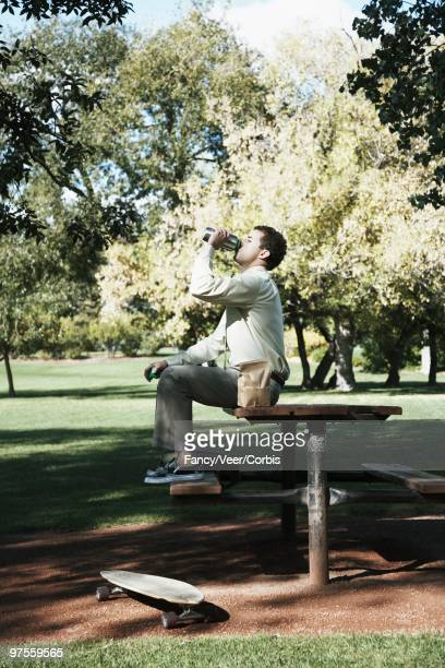 Businessman in a Park