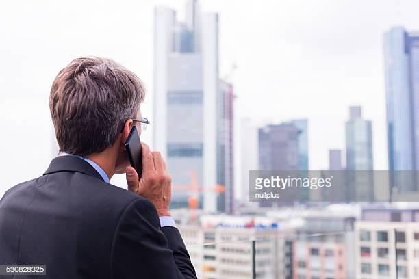 businessman in frankfurt/main