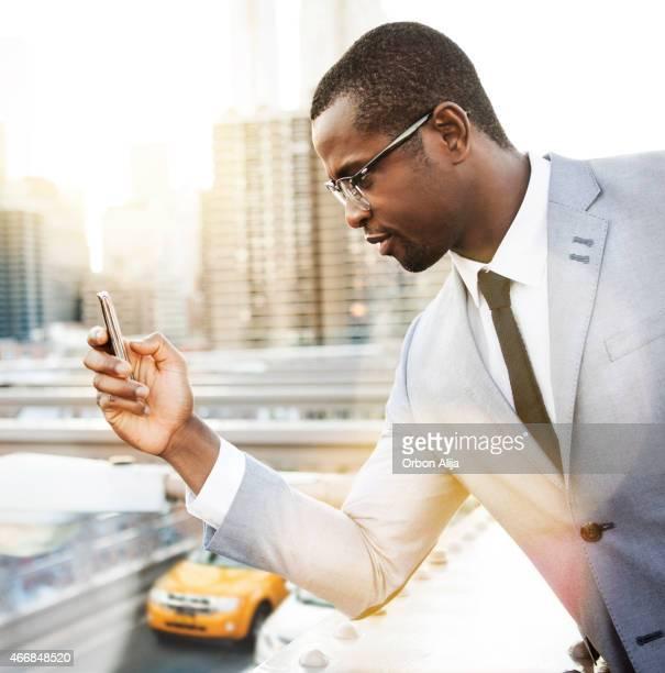 Businessman in New york