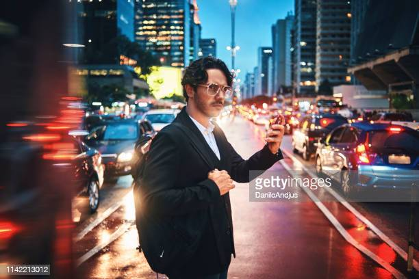 businessman in the city - suave stock pictures, royalty-free photos & images