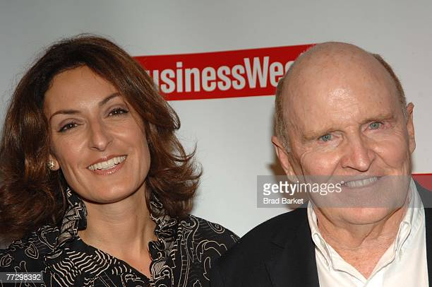 Businessman Jack Welch and wife Suzy Welch attend the relaunch of BusinessWeek magazine at Guastavino's October 11 2007 in New York City