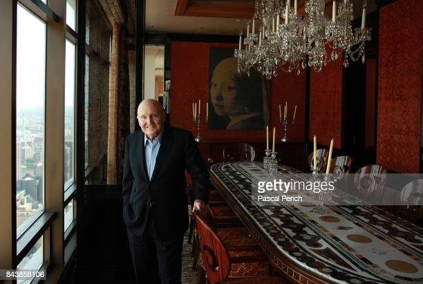 Businessman Jack Welch is photographed on September 19 2014 in New York City