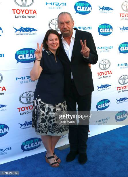 Businessman John Paul DeJoria attends Keep it Clean Live Comedy Benefit for Waterkeeper Alliance at Avalon Hollywood on April 20 2017 in Los Angeles...